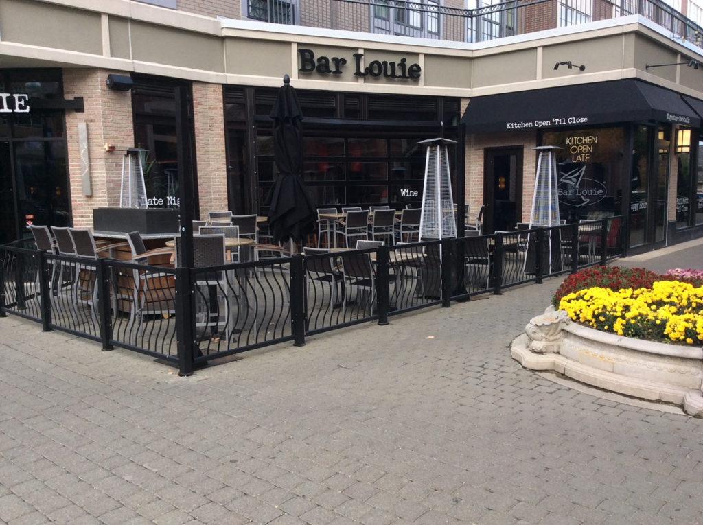 Bar Louie Patio Fence