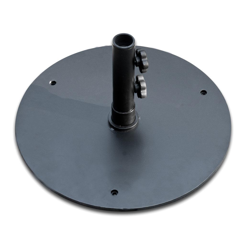 50lb Black Steel Umbrella Base