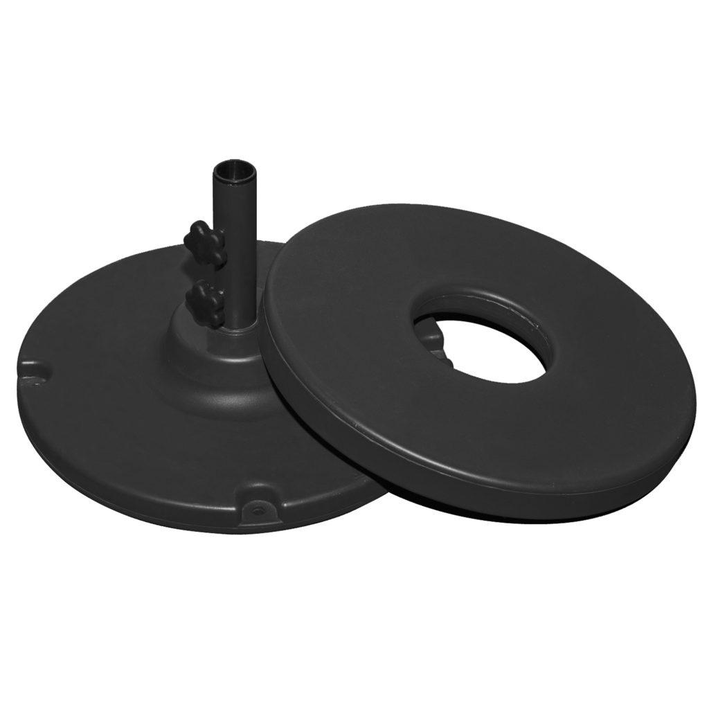 70lb Black Clad Umbrella Base