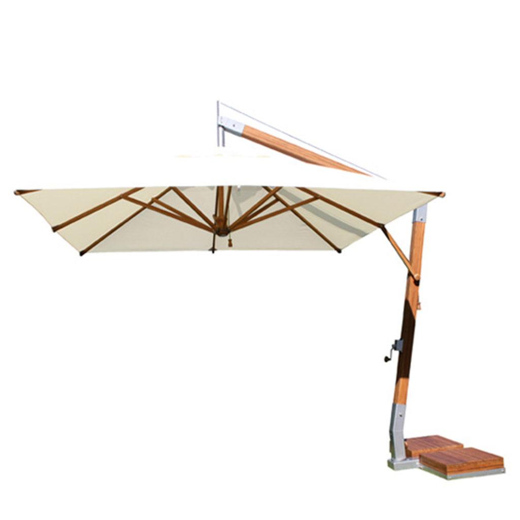Bambrella Levante Offset Umbrella