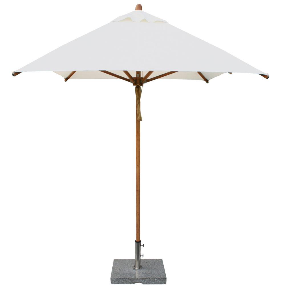 Bambrella White Patio Umbrella