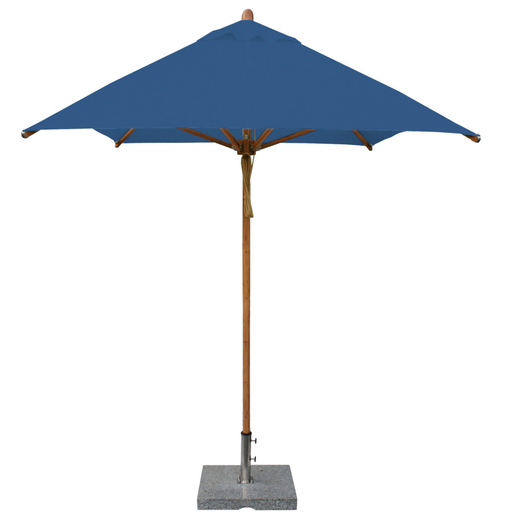 Bambrella blue Patio Umbrella
