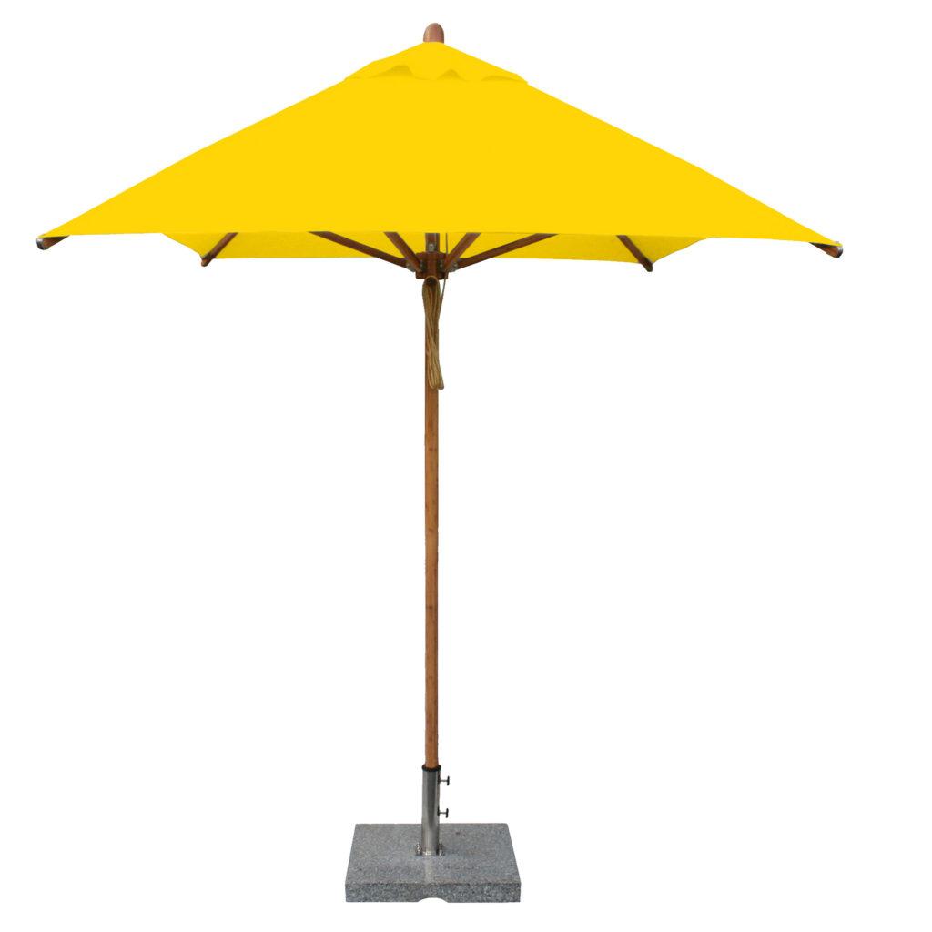 Bambrella yellow Patio Umbrella