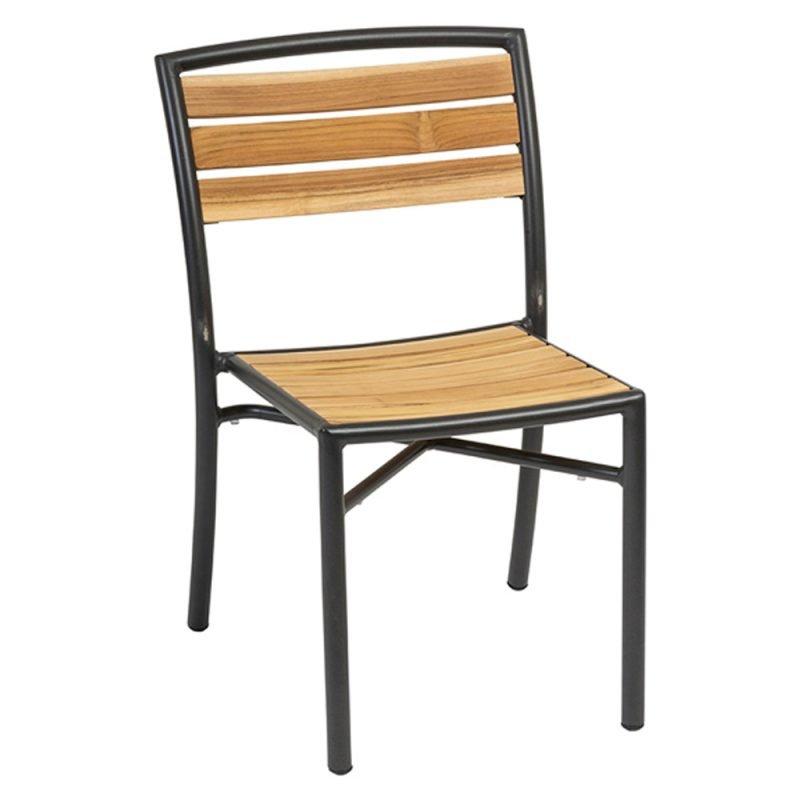 Curacao Side Chair Black Frame