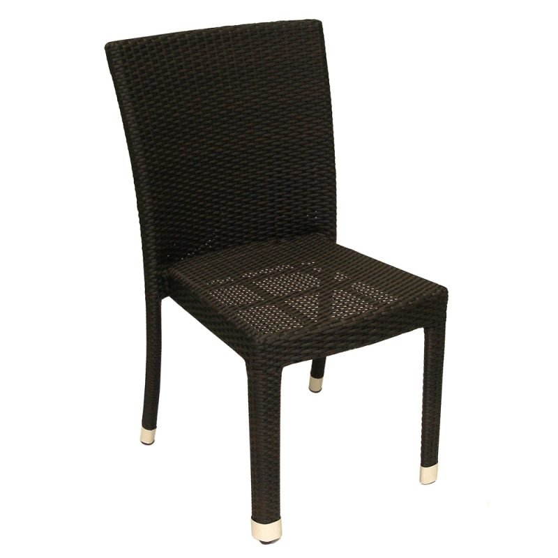 Isabella Expresso Side Chair