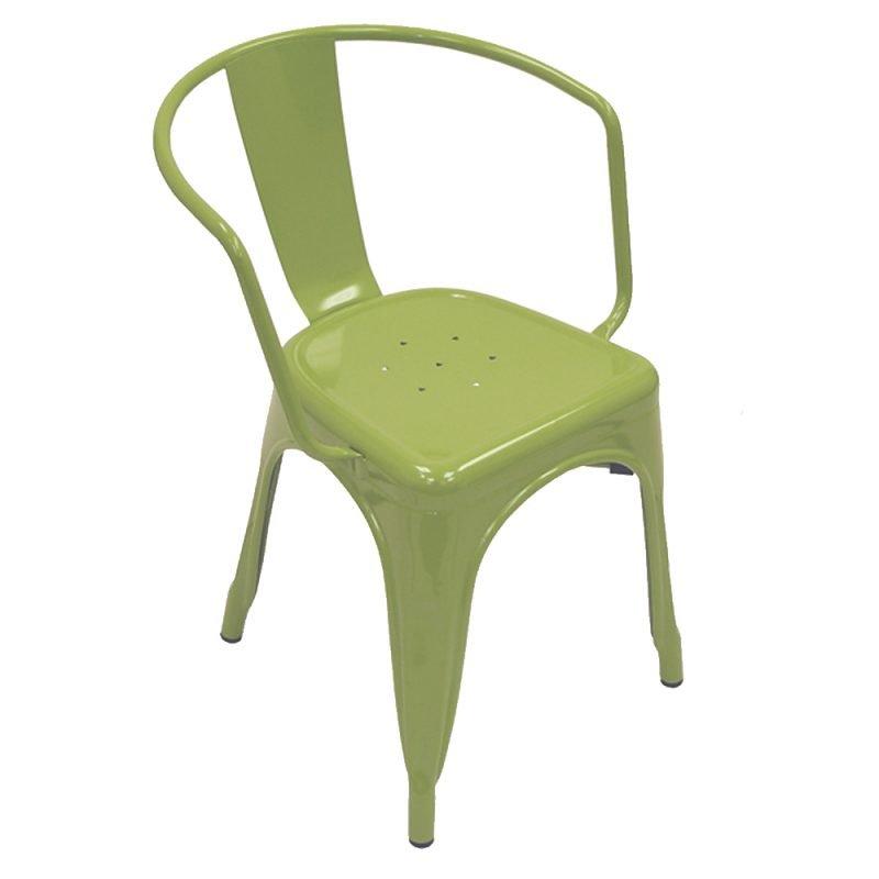 Manhattan Armchair Green Front