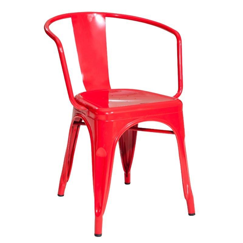 Manhattan Armchair Red Front