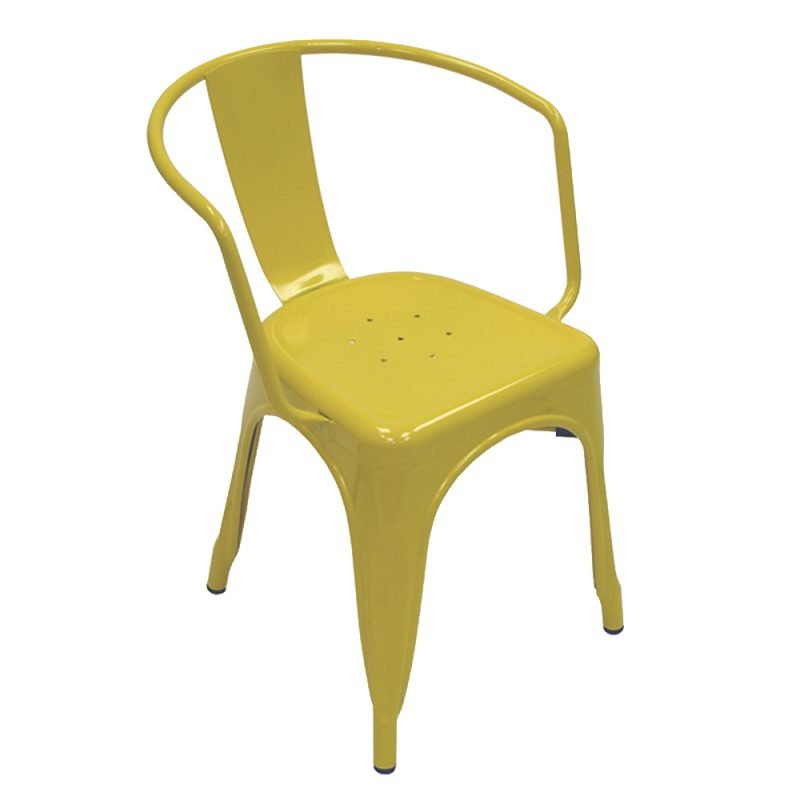 Manhattan Armchair Yellow Front