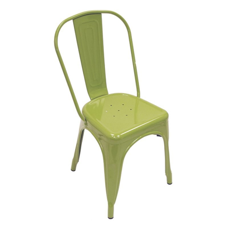 Manhattan Side Chair Green Front