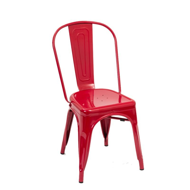 Manhattan Side Chair Red Front