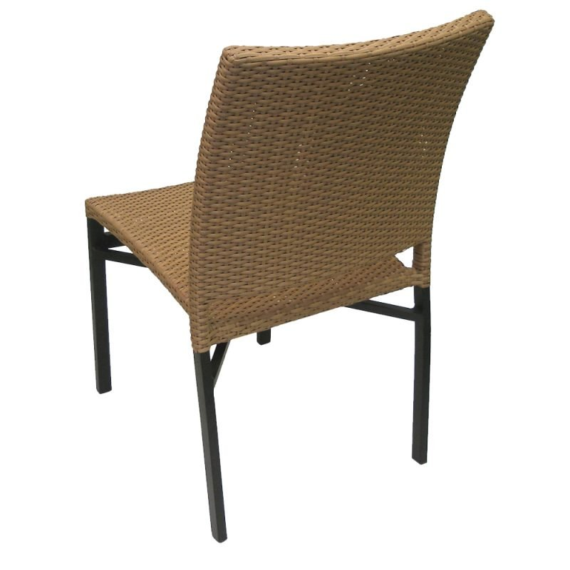 Oviedo Side Chair Cappuccino Rear