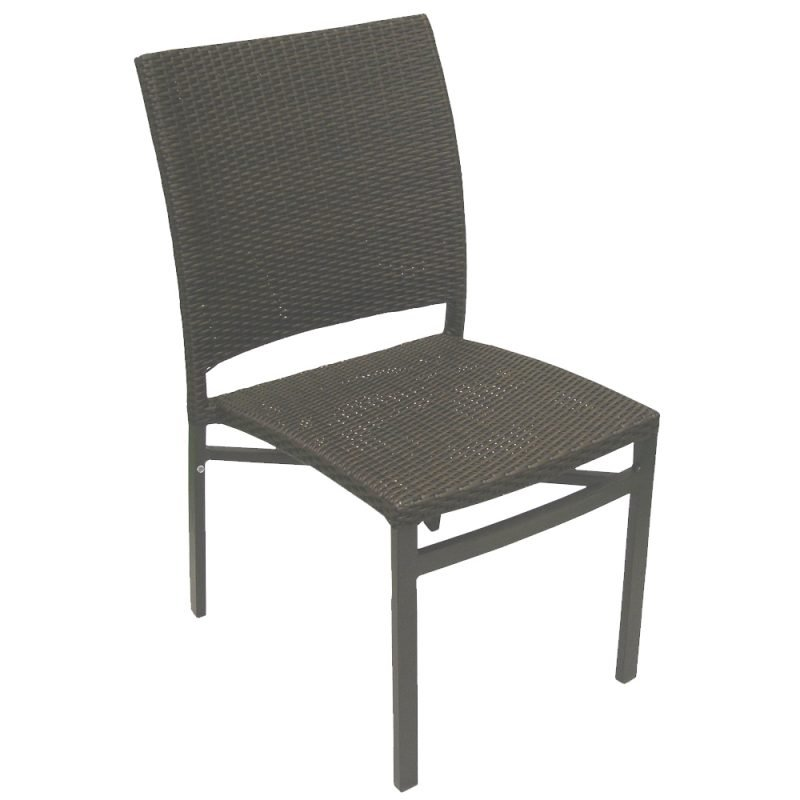 Oviedo Side Chair Front Open Back