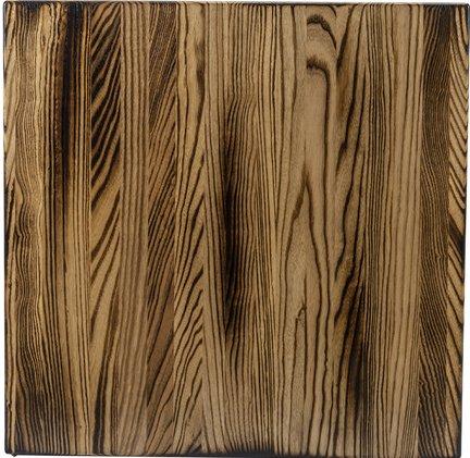 Random Plank Ash Charred
