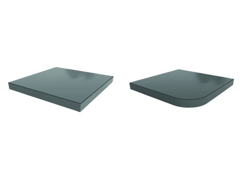 Solid Surface Laminate Self Edge Table Top