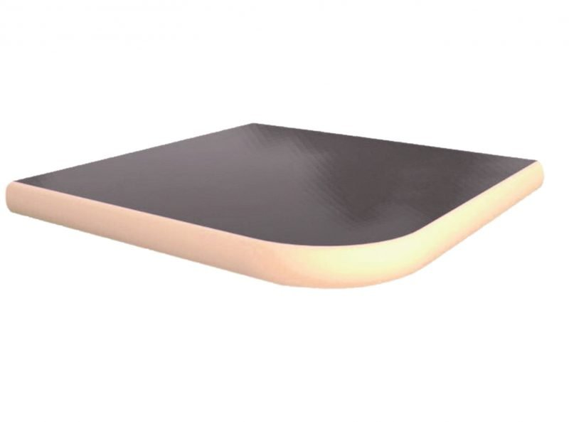 Solid Surface Laminate T-Mold Edge Table Top