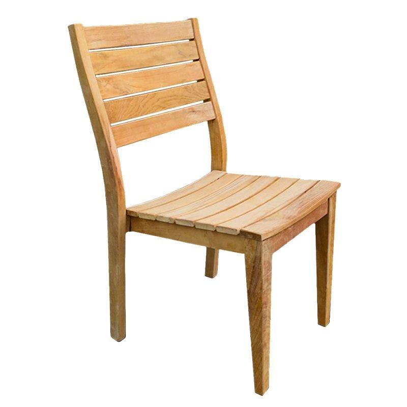 Vegas Teak Side Chair